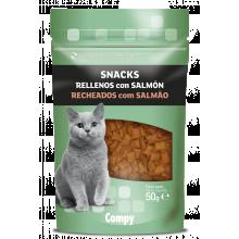 Compy Snacks Recheados com Salmão