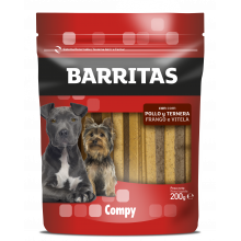 Compy Barritas con Pollo y Ternera