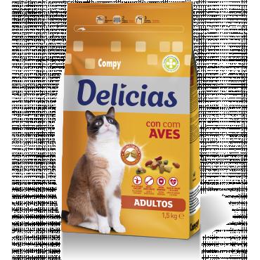 Compy Delicias con Aves