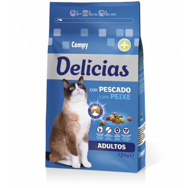 Compy Delicias com Peixe