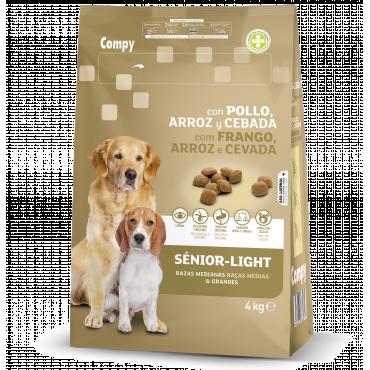 Alimento completo para perros adultos de razas medianas y grandes en etapa sénior y/o con sobrepeso.