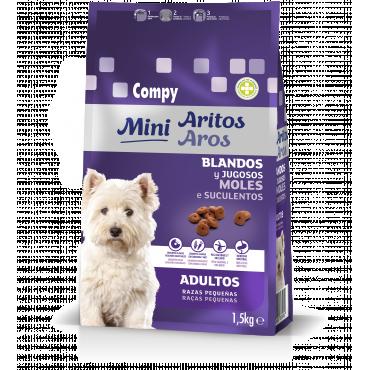 Compy Adultos Mini Aritos Blandos y Jugosos