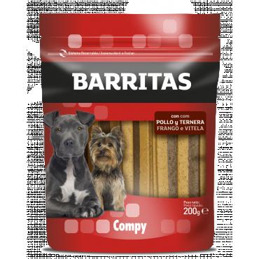 Compy Barritas com Frango e Vitela