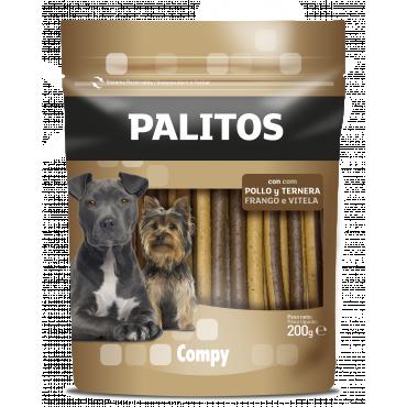 Compy Palitos con Pollo y Ternera